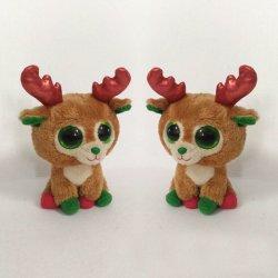 Niedliche Hirsch Plüsch Spielzeug Weihnachten Stofftier