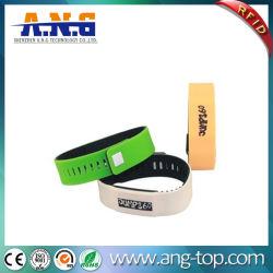 방수 NFC 팔찌 실리콘 소맷동 13.56MHz 1K RFID 악대