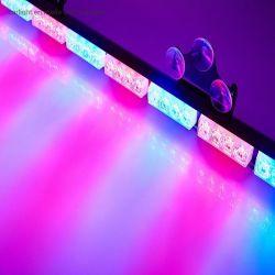 LEIDENE van de Staaf van de Stroboscoop van de Noodsituatie van de LEIDENE Lichten van de Waarschuwing de Waarschuwing die van de Stroboscoop van de Vrachtwagen van het Voertuig van de Lichte Adviseur van het Verkeer de Staaf van het LEIDENE Licht van de Veiligheid met de Aansteker van de Sigaar opvlammen