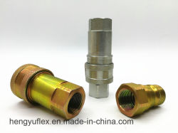 Yaa7241-1ISO Une étroite de raccord rapide hydraulique de type d'acier