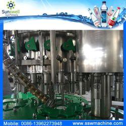 Стекло бутылок пищевые машины для заливки масла