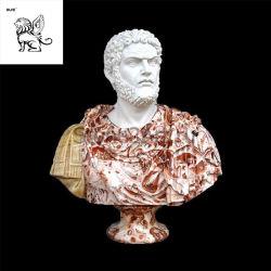 Maatwerk fabrieksprijs Steenwerk Decoratie Aristoteles Bust Marble Statue Mfsb-04