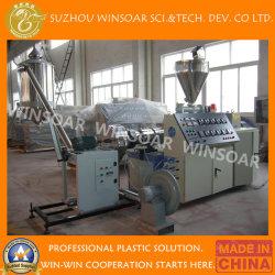 Parafuso Duplo cónico Pelletizer Granulator PVC reciclado