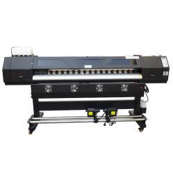 1.8M 6ft l'un an de garantie 2 têtes XP600 Impresora Eco Maintop Solvente avec le logiciel libre