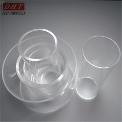 Aangepaste Color Thickness 2mm 3mm Od 50mm 70mm 90mm Plastic Acrylic PMMA Tube