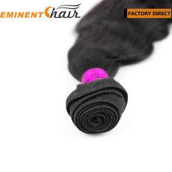 Черный Реми волосы Weft человеческого волоса добавочный номер