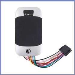 GPS tracker GPRS SMS véhicule le système de suivi GPS étanche 303 avec moniteur de niveau de carburant