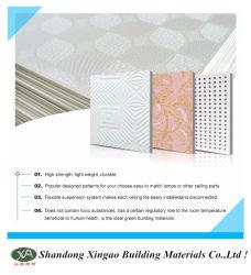 Популярные продавец крытый ПВХ ламинированные гипс потолочные плитки