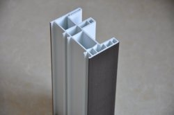 60/80/88mm série UPVC Profil de fenêtre de l'angle des matériaux de construction de vendre à chaud