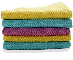 Prato de cozinha absorvente toalha de pano de limpeza em microfibra de trapos aluguer de toalhas para as telas de prato de Vidro