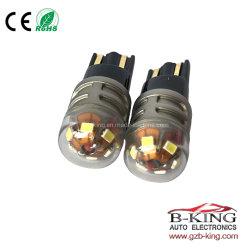 Indicatore luminoso bianco automatico dell'automobile delle lampade T10 LED