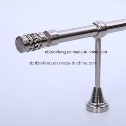 Aluminu 25mm tringle à rideau fleuron de style européen avec la chaîne