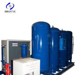 Brotie медицинские и промышленные Psa генератор кислорода завода с наполнения цилиндров системы