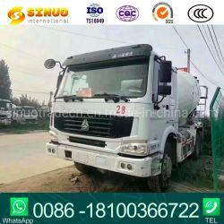 Mélangeur de béton lourd HOWO utilisé le moteur diesel Sinotruk 4-15cbm type volumétrique Camion lourd Camion Bétonnière