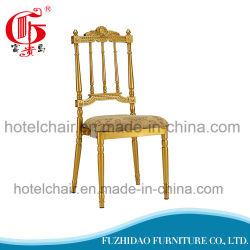 Antiker Gold Metall Dining Bankett Chiavira Stuhl (FD-916-1)