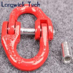赤いカラーはPinの鋼鉄G80鎖の結合リンクを造った