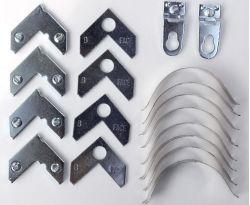 Liga de alumínio Photo Frame Código Canto junta estilhaços de Gancho 90 grau Link Frame linha Hardware especial canto de Acessórios