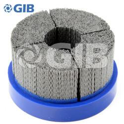 Sector de 95 mm abrasivo estilo disco de Nylon cepillo para el desbarbado