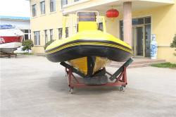 Différents modèles de bateau de sauvetage gonflable rigide Hypalon bateau modèle de l'Australie