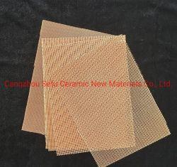 Filtro a maglia della vetroresina per il liquido del metallo dei pezzi fusi