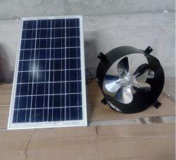 30W 벽 장착형 DC 태양광 동력 다락방 배기 팬