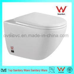 prix d'usine porcelaine sanitaire assis Wc mur accroché salle de bain wc