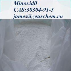 99% порошка Minoxidil поставщик CAS 38304-91-5 для Anti-Hair потери