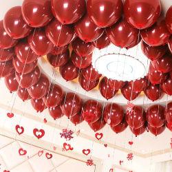 Groothandel Promotie Geschenkdrukwerk grote LED Light Up water Reclame Happy Birthday Latex Pump Globos Helium Inflatable Party Eid Number Folie rubberen ballon