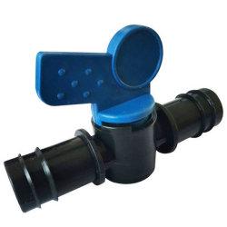 管のための弁が付いている小型プラスチック速く適切なトゲのコネクター