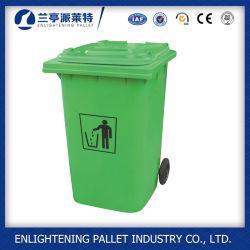 Caixote do lixo plástico recipiente de lixo do Recipiente do caixote do lixo