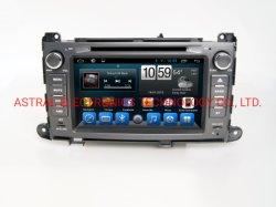 """8 """" Toyota Sienna en voiture de tableau de bord de gros de lecteur de DVD Audio Vidéo"""