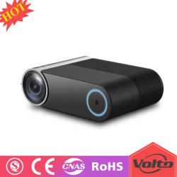 Mini sistema LED, 2400 lumen, 1280X720 HD, video USB 1080P WiFi del teatro domestico del proiettore di Beamer HD- MI