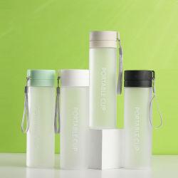 أكواب شاي مغلقة مصممة خصيصاً لتناسب سعة كبيرة جديدة ومحمولة في الخارج الأكواب البلاستيكية