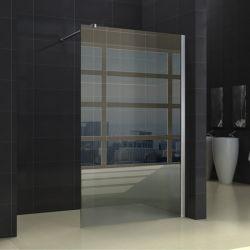 8mm 욕실 알루미늄 프레임 고정식 유리 샤워 스크린 판매