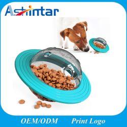 Productos para mascotas OVNI Iq interactivo perro mastique el tratamiento de las bolas de dispensación de los Juguetes Juguetes de perro lento del alimentador