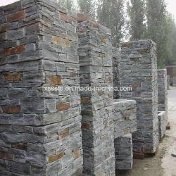 壁のための卸し売り安く自然なスレート文化石