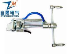 Cable de nylon de plástico de manual de la banda de sujeción de herramientas de sujeción