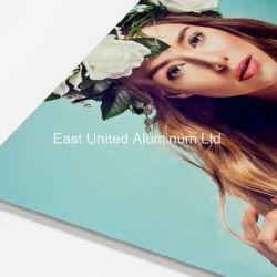 Передача тепла алюминиевых пустым пластину с помощью высокого качества для рекламы