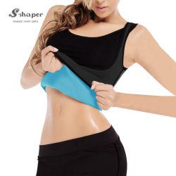 S-Shaper adelgaza Chaleco de neopreno Sudadera cuerpo forjadores de la mujer la pérdida de peso Sauna camisetas
