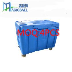 Almacenamiento de color Magicball congelador frigorífico cuadrada de plástico de la caja de transporte de alimentos de envío