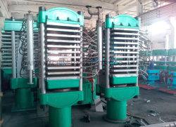 Formación de espuma EVA de lámina de goma que hace la máquina la curación de la placa Vulcanizer vulcanización pulse
