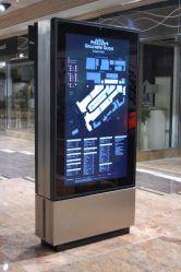 2500 нит 86 дюймов для использования вне помещений отдельностоящие Digital Signage