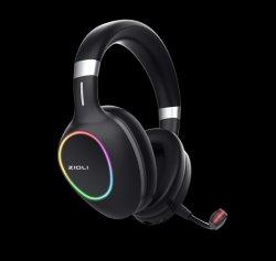 Прочного RGB наушники для компьютерных игр для ПК, PS5, XBox серии X выход для наушников с микрофоном