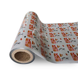 Voedselverpakking Plastic Printed Roll Stock Film