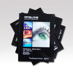 Custom Cheap parfait Service d'impression catalogue complet de couleurs