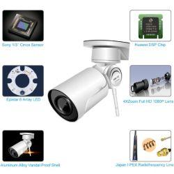 1080P Camera van de Zoomlens van het Toezicht van kabeltelevisie van IRL de Waterdichte