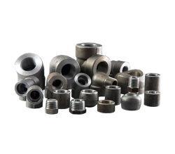 تركيبة أنابيب من الفولاذ الكربوني المشكل EN/DIN SW 90 Elbow Sch80/XS/Sch160/Xxs لحام المقبس ASME B 16.11 (SW) 45 قوس