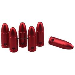 OEM 9mm. 45 223 308 7.62X39 12 Ga balas dispara el cartucho de rondas de maniquí de entrenamiento de tapa