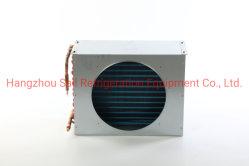 Tube en cuivre fin en aluminium personnalisé le condenseur de la bobine avec le capot du ventilateur échangeur de chaleur