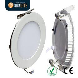 12W tour ronde de la lumière de panneau à LED Downlight 170*12mm SMD2835